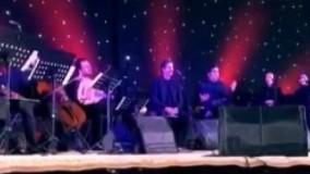 ترانه ای که شهرام ناظری در کنسرتش به یاد کشته شدگان پلاسکو خواند