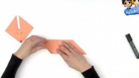 ساخت روباه کاغذی (اوریگامی)