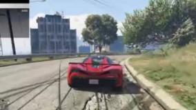سریعترین ماشین در بازی جی تی ای