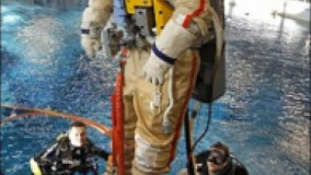 آموزش فضانوردی زیر آب