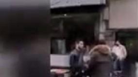 تجمع کسبه پلاسکو در اعتراض به تخریب پاساژ
