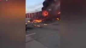برخورد دو هواپیما در آسمان تگزاس