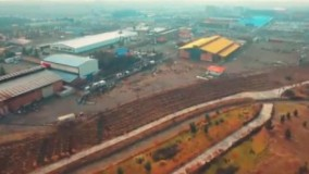 مراسم رونمایی از محل احداث بزرگترین ورزشگاه جهان
