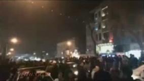 فیلمی از ازدحام مردم در مقابل بیمارستان شهدای تجریش بعد از فوت آیت الله هاشمی