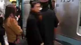 زور چپونی در مترو چین