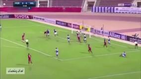 مرتضی طاهری (گوینده خبر ورزشی) رادیو  و  داور عمانی بازی پرسپولیس