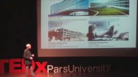 سخنرانی رضا دانشمیر در تداکس دانشگاه پارس