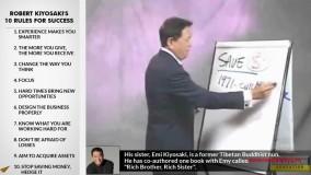 10 قانون موفقیت مالی رابرت کیوساکی