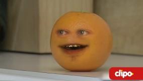 کلیپ خنده دار پرتقال و سیب!!!!!!!