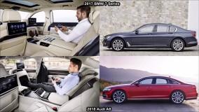 مقایسه آئودی A8 و بی ام و سری 7 - مدل 2018