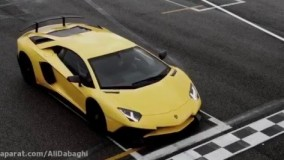 فیلم تست سرعت ماشین لامبورگینی