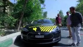 معرفی تسلا مدل S در تهران