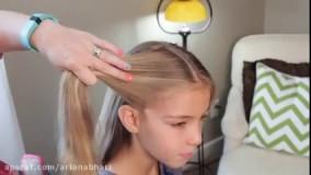 بافت مو دخترانه - مدل مو - بافت مو 2017(1)