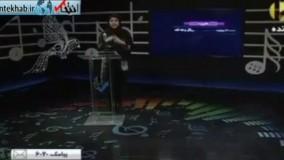 فیلم/ اشک های مجری برای زلزلهزدگان در برنامه زنده