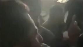 فیلم/ حضور بهرام رادان در مناطق زلزله زده