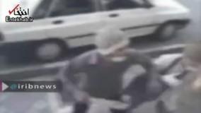 فیلم/ دستگیری اراذل و اوباش قمه بدستان تهران