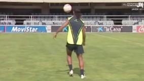 رونالدینیو ساحری بی نظیر در فوتبال تکنیک ها و گل ها