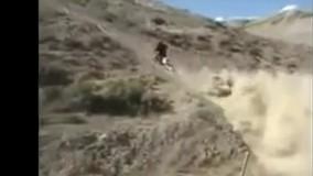 فیلم سریعترین بالا رفتن از کوه با موتور!