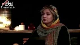 فیلم/ حمله نیوشا ضیغمی به صدف طاهریان