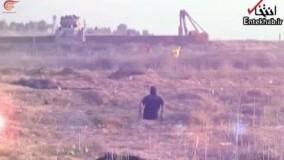 شهید خاص فلسطینی که پاهایش را در موشکباران غزه از دست داد