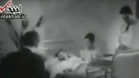 فیلم/ سکانسی از حضور احمد شاملو در یک فیلم