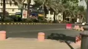 صدای آژیر خودروهای امدادی در ریاض پس از شلیک موشک یمنی