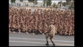رقص تکنوی جالب سرباز ایرانی در پادگان !