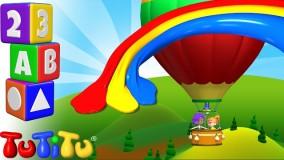 کلیپ کودکانه تو تی تو  پیش دبستانی 3- آموزش رنگ ها