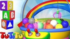 کلیپ کودکانه تو تی تو  پیش دبستانی 6- آموزش رنگ ها