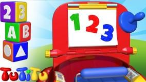 کلیپ کودکانه تو تی تو  پیش دبستانی 7- آموزش عدد ها