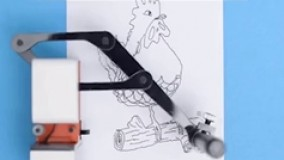 ربات نقاشی کش