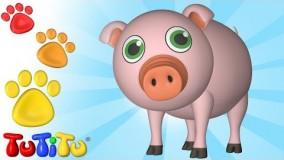 ویدیوهای آموزشی تو تی تو - اسباب بازی جانوران 44