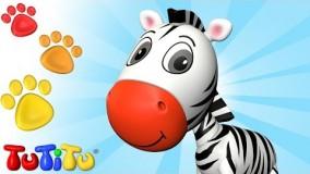 ویدیوهای آموزشی تو تی تو - اسباب بازی جانوران 31