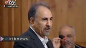 فیلم/ شهردار تهران: اقدام اغتشاشگران حرکتی کور است