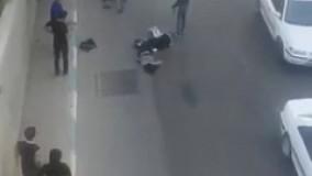 فیلمی از سقوط دو دختر از روی پل چمران اصفهان