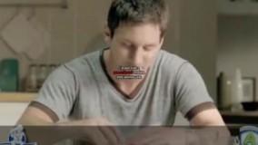 تبلیغ خنده دار مسی , رونالدو و نیمار