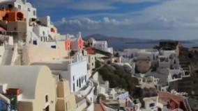 زیبایی های سانتورینی یونان