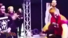 ورود فربد ایران نژاد با آهنگ مازندرانی به رینگ
