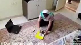 دابسمش - اتاق تمیز کردن پسرا و دخترا