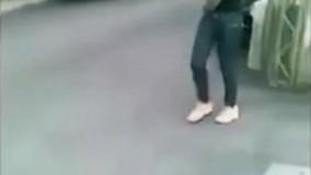 عاقبت موتورسواری دختر همین میشه/کلیپ خنده دار و جالب
