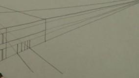 آموزش طراحی پرسپکتیو خانه