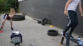 ورزشکارا پر انرژی