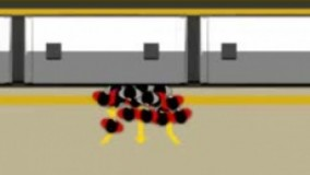 راه حل ساده مشکل هل دادن، عدم رعايت تقدم ورود و خروج در مترو