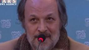 مسعود جعفریجوزانی کارگردان فیلم سینمایی «پشت دیوار سکوت» در نشست خبری این فیلم