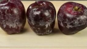 چطور پارافین روی سیب رو پاک کنیم