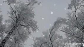 موزیک آرامش بخش «بارش برف»