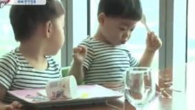 3قلوهای جومونگ_3قلوها و یک وعده غذایی بوفه موفق