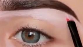 آموزش آرایش چشم و ابروی عاااالی