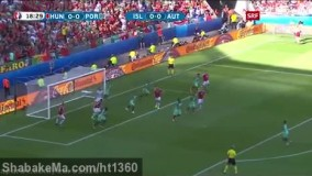 مجارستان 3-3 پرتغال (یورو 2016) - درخشش رونالدو