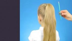 3 مدل آرایش مو برای دختر بچه ها